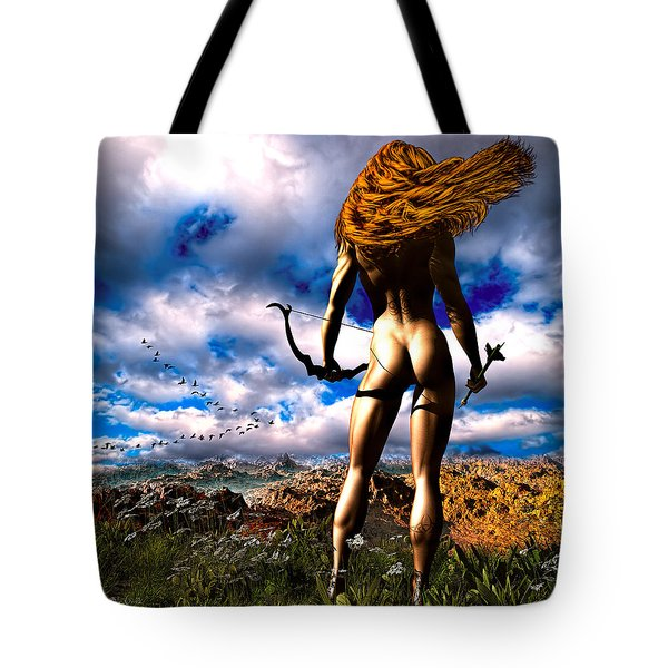Hunting Edens Edge Tote Bag by Bob Orsillo