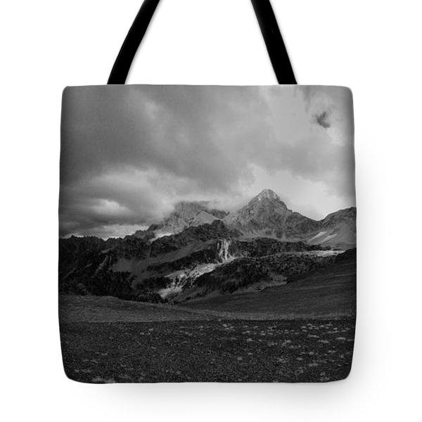 Hurricane Pass Storm Tote Bag by Raymond Salani III