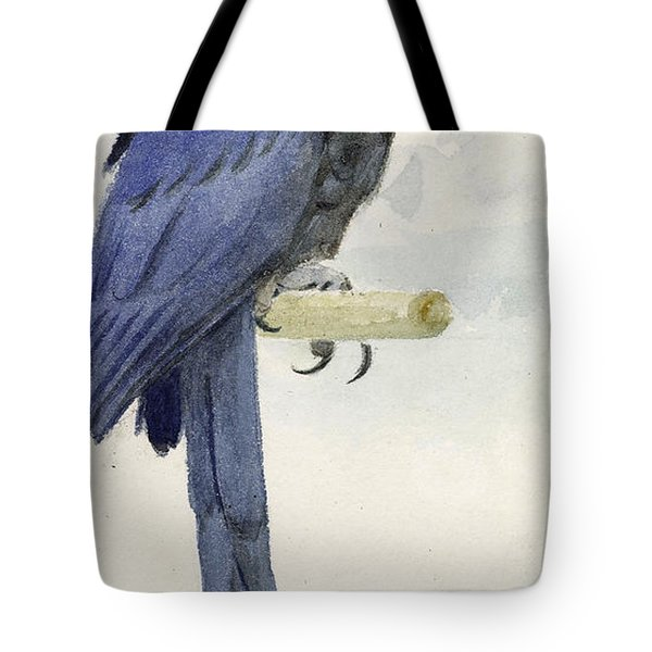 Hyacinth Macaw Tote Bag by Henry Stacey Marks