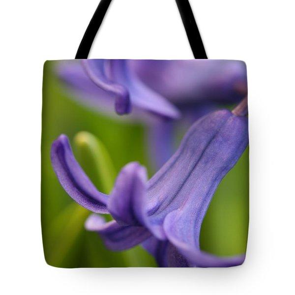 Hyacinth Tote Bag by Mark Severn
