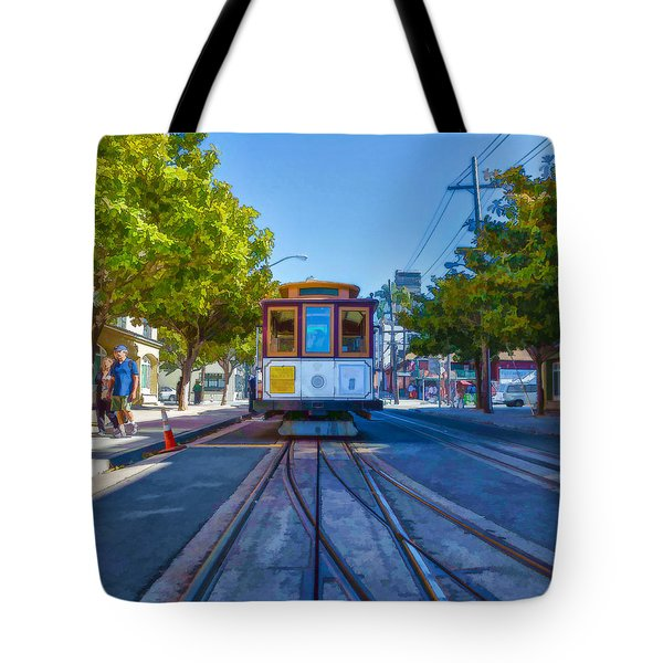 Hyde Street Trolley Tote Bag by Scott Campbell