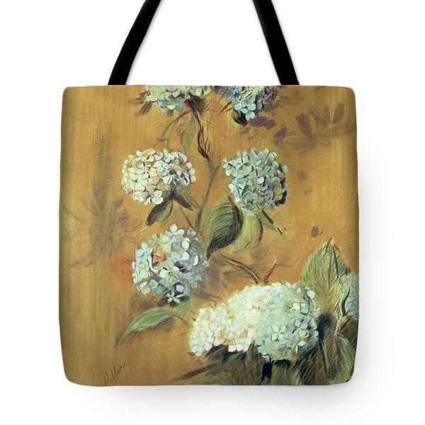 Hydrangeas Tote Bag by Paul Cesar Helleu