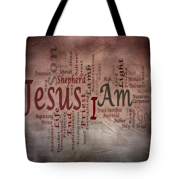 I Am 1 Tote Bag by Angelina Vick