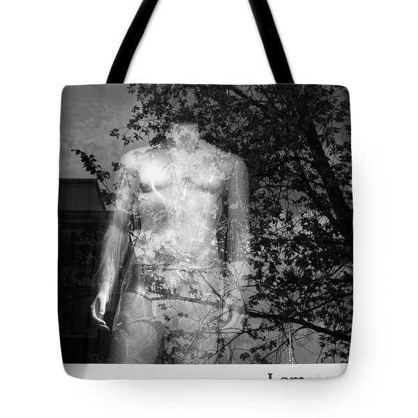 I Am Amsterdam Tote Bag by Dave Bowman