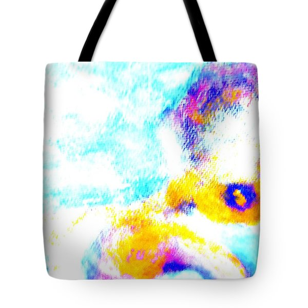 I am floating away Tote Bag by Hilde Widerberg