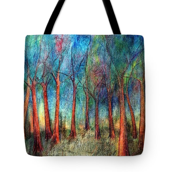 I Arose Morning  Tote Bag by Wojtek Kowalski