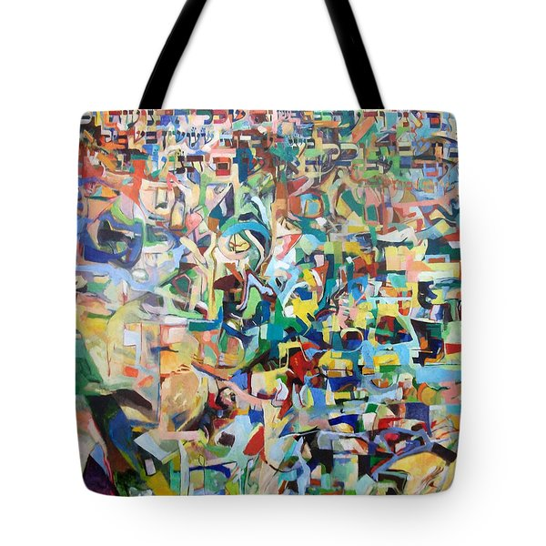 I believe this and understand it fully well 13 Tote Bag by David Baruch Wolk