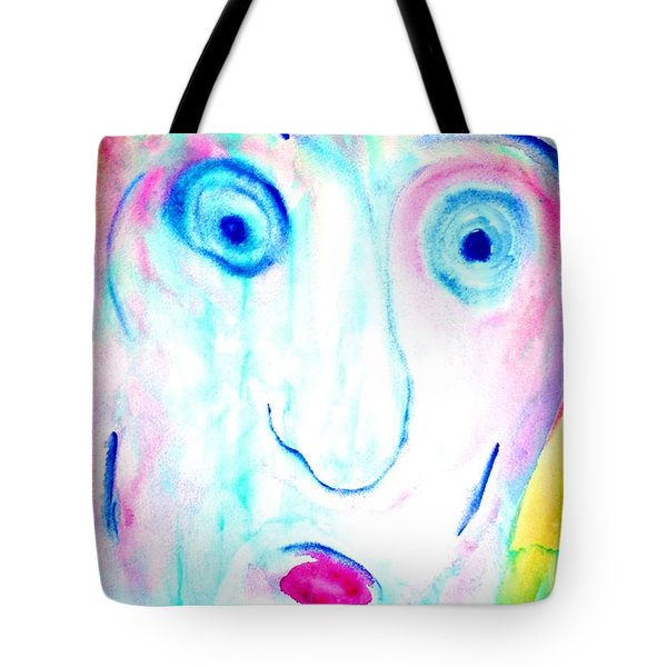 I didnt do it  Tote Bag by Hilde Widerberg