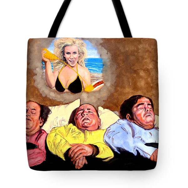 I Dream Of Jenny Tote Bag by Tom Roderick