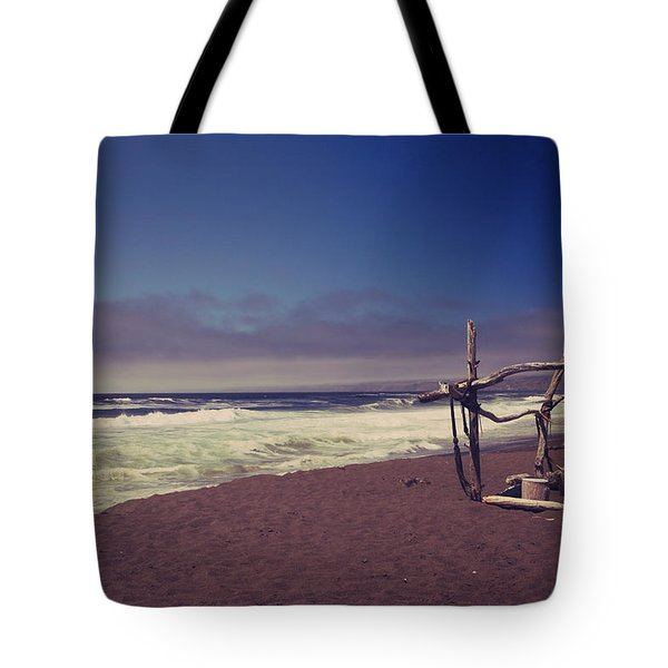 I Feel You Slipping Away Tote Bag by Laurie Search