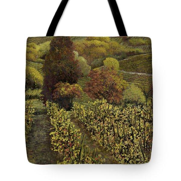 I filari in autunno Tote Bag by Guido Borelli