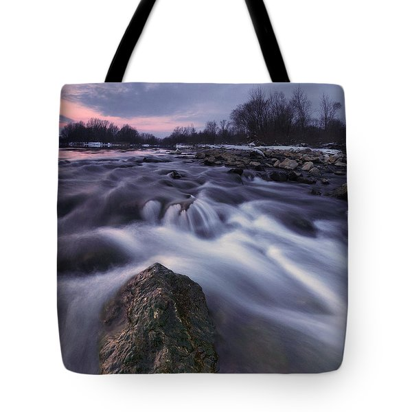 I Follow River Tote Bag by Davorin Mance