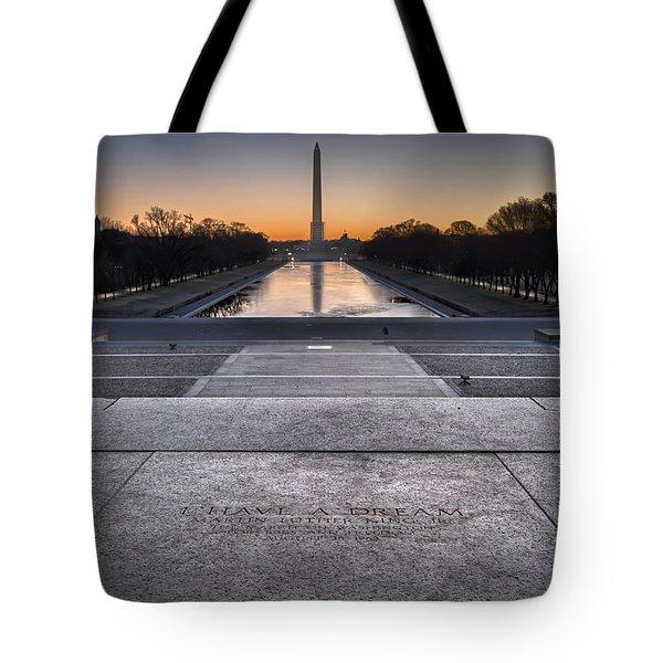 I Have A Dream... Tote Bag by Eduard Moldoveanu