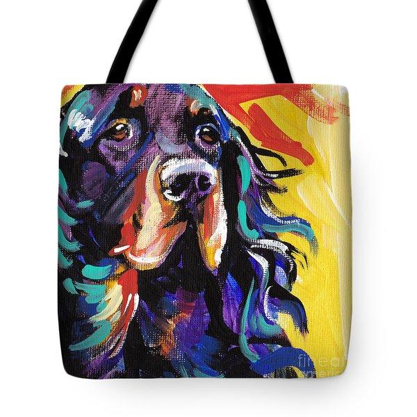 I Love Gordon Tote Bag by Lea S