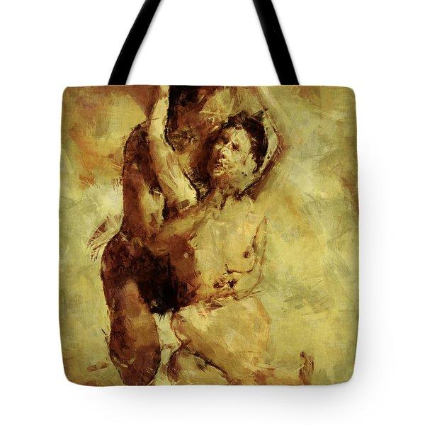 I Love You Tote Bag by Kurt Van Wagner