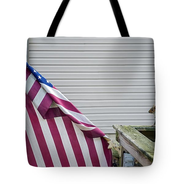 I Pledge Allegiance Tote Bag by Brian Wallace