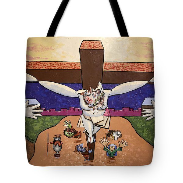 I Sacrificed Myself For You Tote Bag by Anthony Falbo