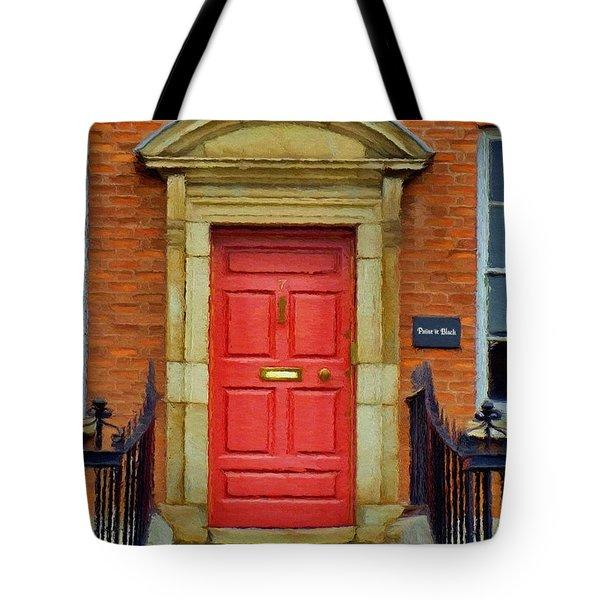 I See A Red Door Tote Bag by Jeff Kolker