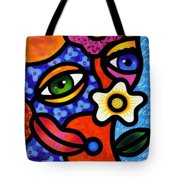 I Think I Like You Tote Bag by Steven Scott