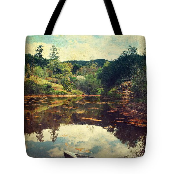I Tried to Get to You Tote Bag by Laurie Search