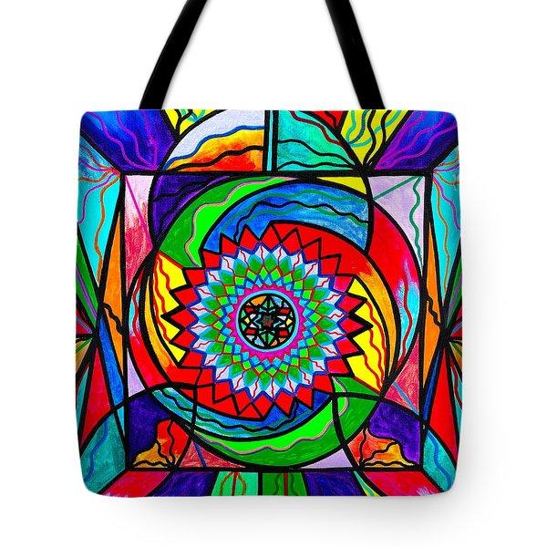 I Trust Myself To Create Tote Bag by Teal Eye  Print Store