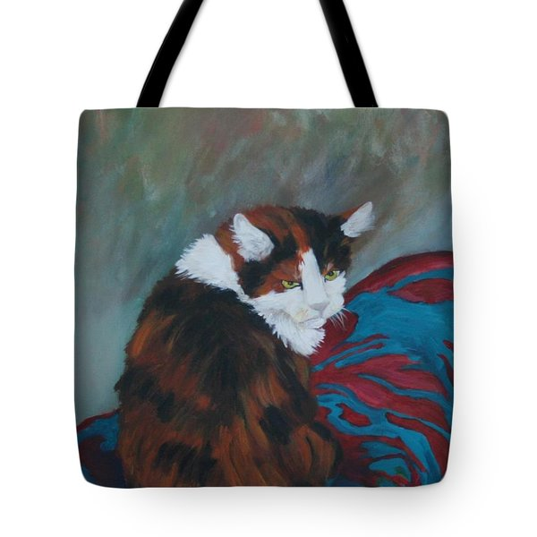I Want My Lap Tote Bag by Gail Daley