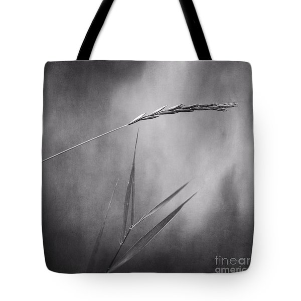 I will hold you in black and white Tote Bag by Priska Wettstein