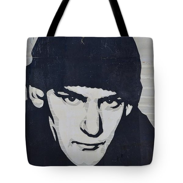 Ian Mackaye Tote Bag by Allen Beatty