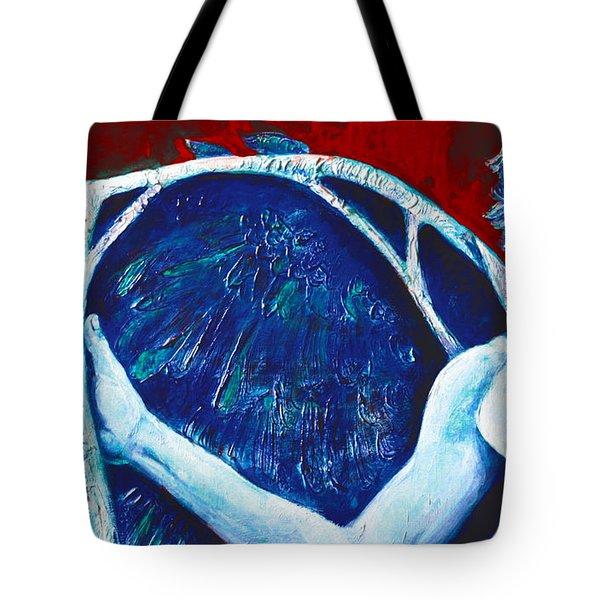 Icarus Tote Bag by Derrick Higgins