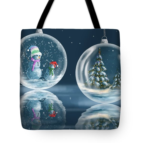 Ice Balls Tote Bag by Veronica Minozzi