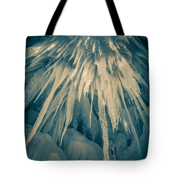 Ice Cave Tote Bag by Edward Fielding