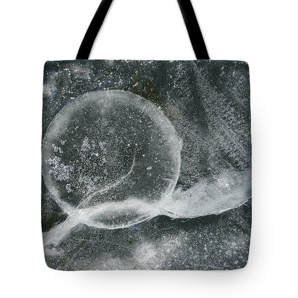 Ice Fishing Hole Tote Bag by Steven Ralser