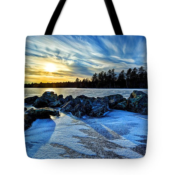 Icebound 5 Tote Bag by Bill Caldwell -        ABeautifulSky Photography