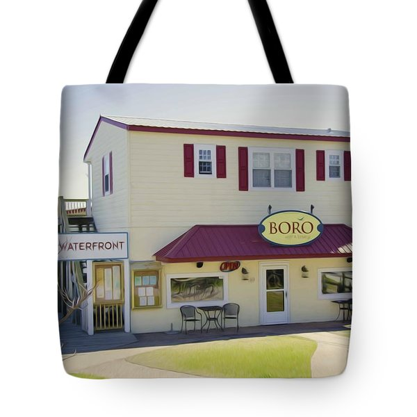 Icehouse Waterfront Restaurant 1 Tote Bag by Lanjee Chee