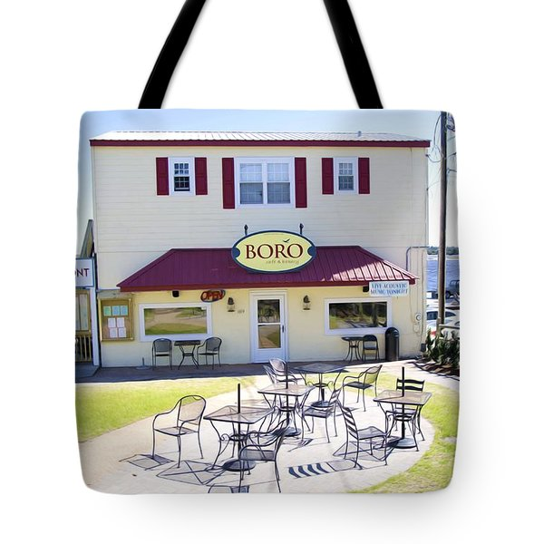 Icehouse Waterfront Restaurant 3 Tote Bag by Lanjee Chee