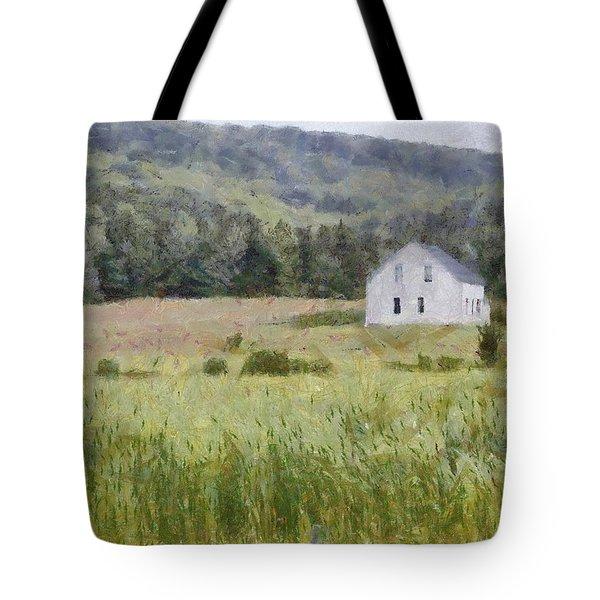 Idyllic Isolation Tote Bag by Jeff Kolker