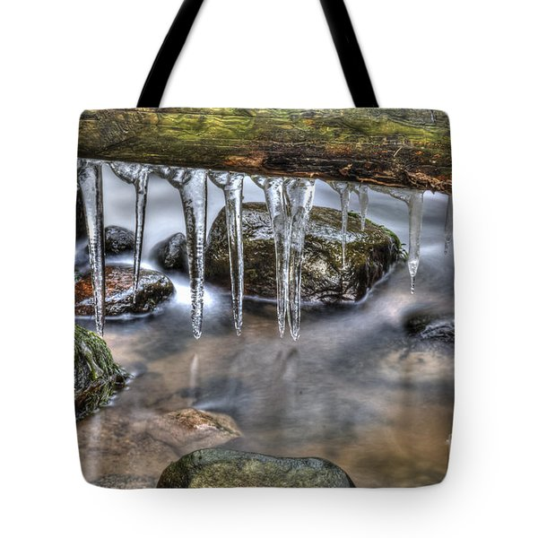 IIcicles Time Tote Bag by Veikko Suikkanen