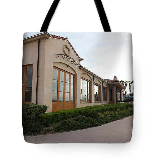 Il Fornaio Italian Restaurant In Coronado California 5d24362 Tote Bag by Wingsdomain Art and Photography