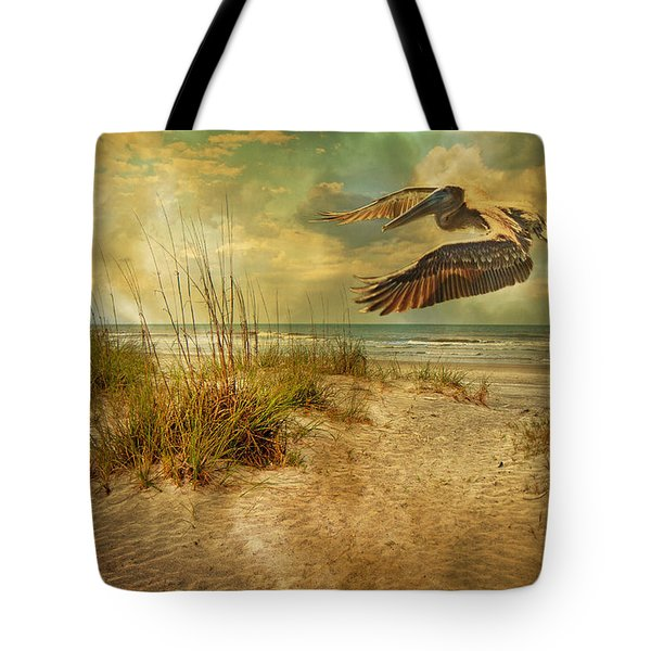 I'll Be Home In The Evening Tote Bag by Betsy A  Cutler