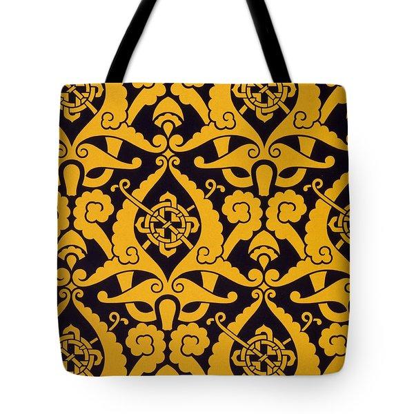Illustration From Studies In Design Tote Bag by Christopher Dresser