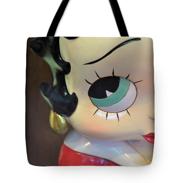 I'm Keeping My Eye On You Tote Bag by Jan Amiss Photography