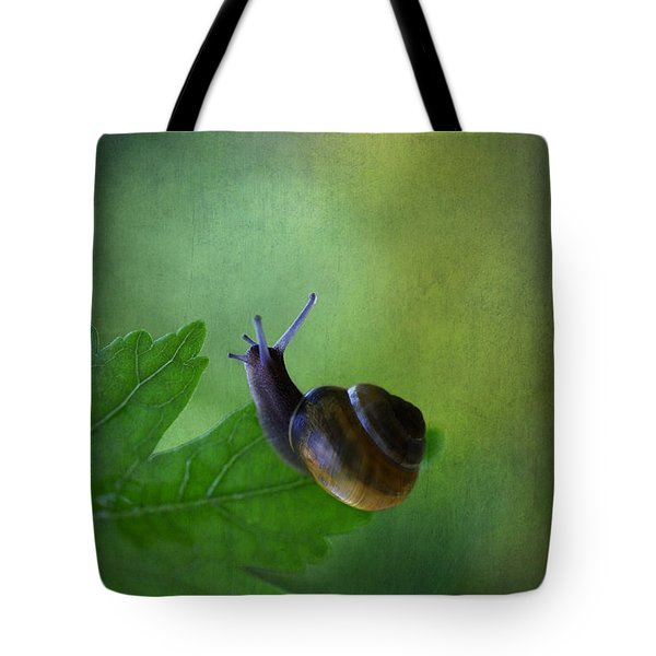 I'm Not So Fast Tote Bag by Annie  Snel