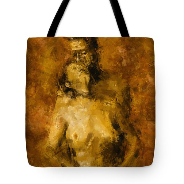 I'm Yours Forever Tote Bag by Kurt Van Wagner