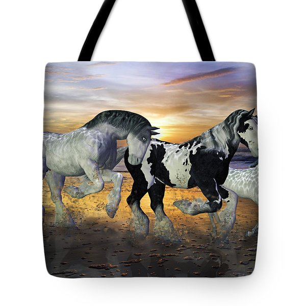 Imagination on the Run Tote Bag by Betsy C  Knapp