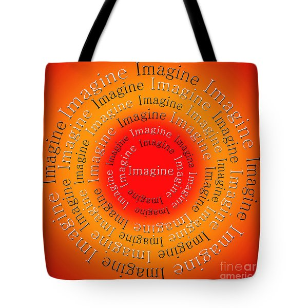 Imagine 5 Tote Bag by Andee Design