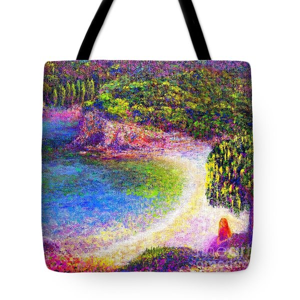Imagine Tote Bag by Jane Small
