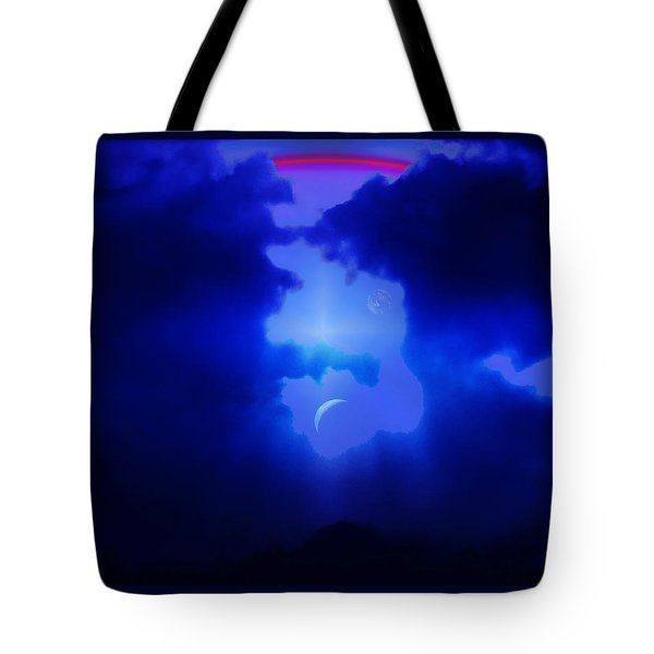 Imagine Somewhere Higher Tote Bag by Kellice Swaggerty