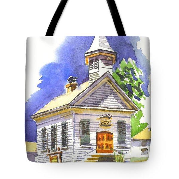Immanuel Evangelical Lutheran Church Pilot Knob Missouri Tote Bag by Kip DeVore