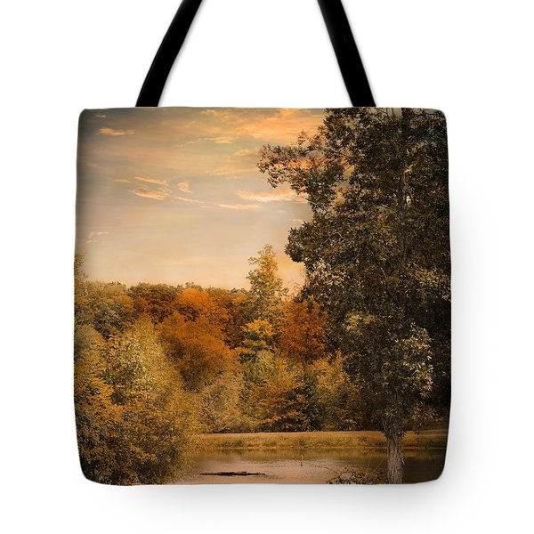 Impending Autumn Tote Bag by Jai Johnson