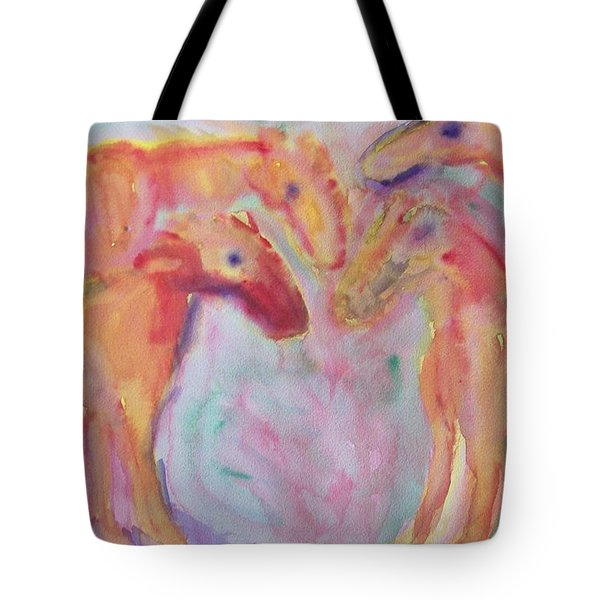 Important Meeting Tote Bag by Hilde Widerberg